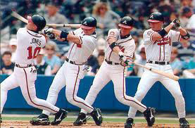 Chipper Jones batting