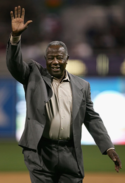 Hank Aaron honored in Atlanta