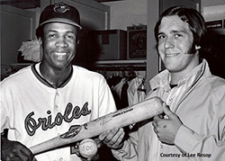 Frank Robinson and Leo Resop