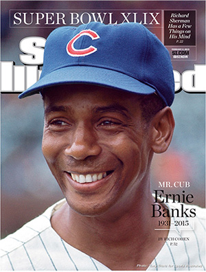 Ernie Banks Sports Illustrated Cover