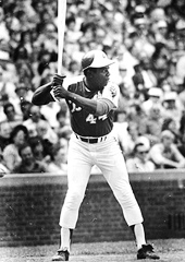 Hank Aaron at Bat